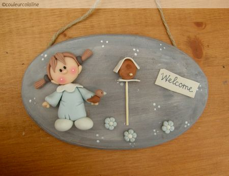 Welcome board - plywood, Cp