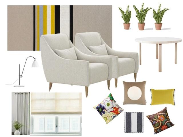 Altto -armchair for Adea  design Elina Ala-Mononen  picture from blog: näköisiä kulmia: Ideoita olohuoneeseen