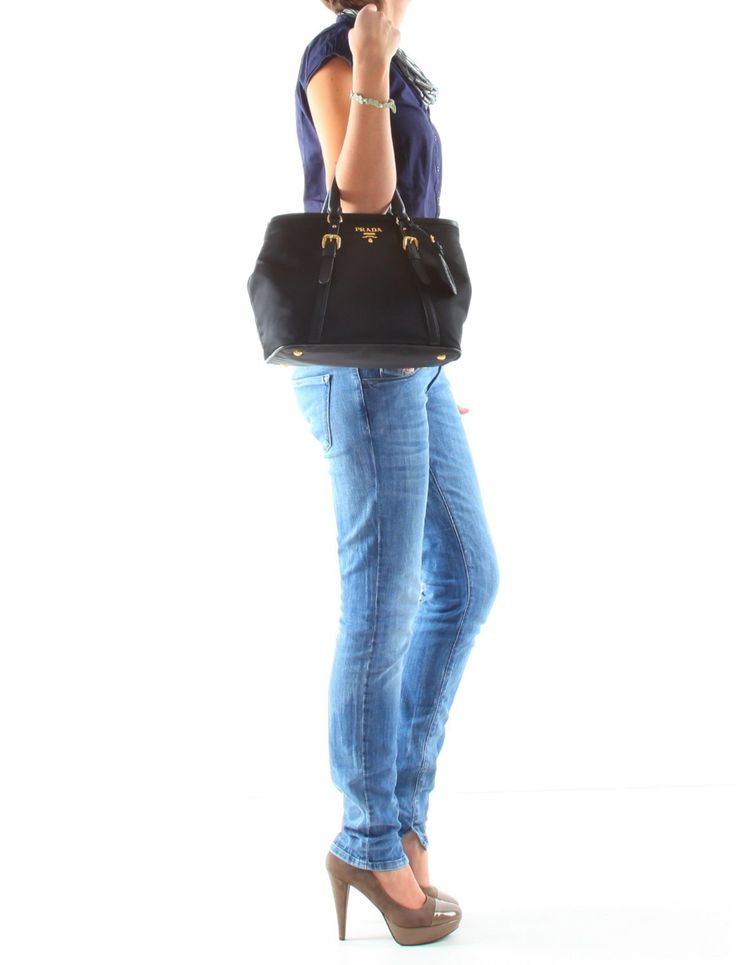Prada Handbag BN1841 TU black: Clothing   LUXURY ?   Pinterest ...
