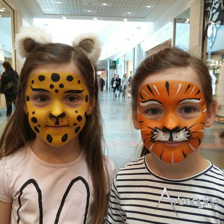Leopard och tiger-målningar!😄