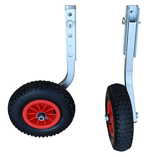 """Boating-Brocraft Boat Launching Dolly 12"""" Wheels For Inflatable Boats"""