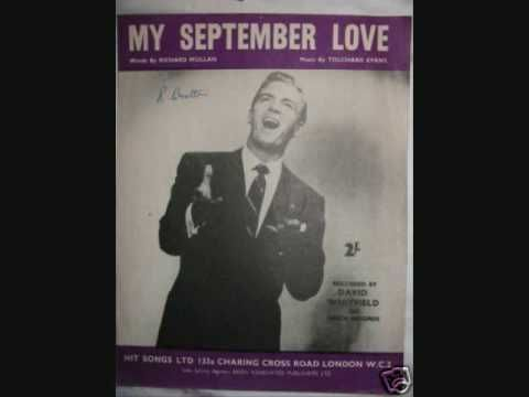 My September Love-David Whitfield