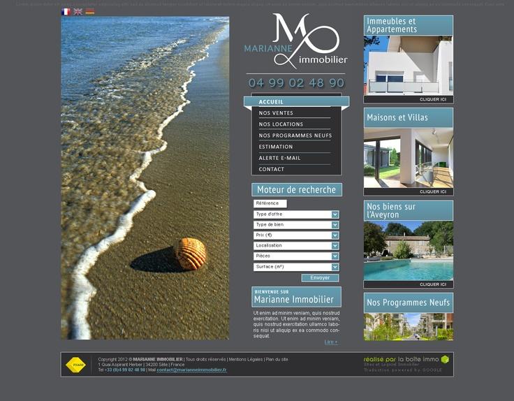 Marianne Immobilier  Immobilier à Sète