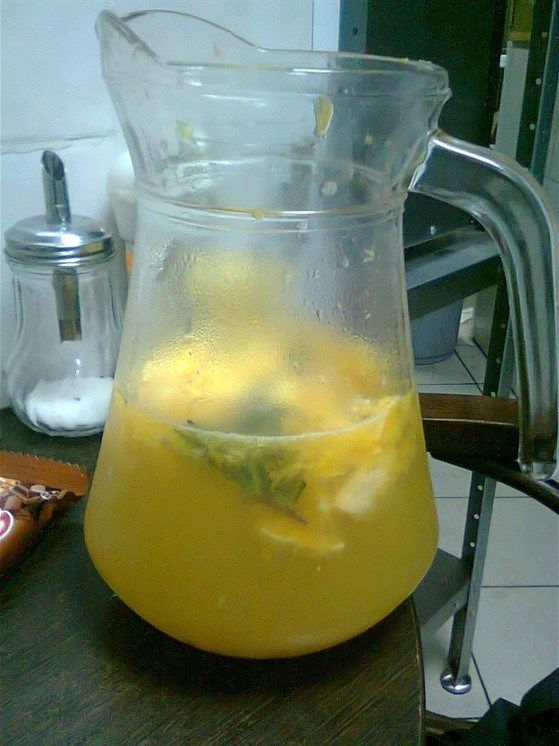 Мандариновый лимонад с розмарином