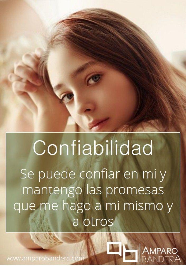 Confiabilidad #Terapia #DecidoSerFeliz #Bienestar #SaludEmocional