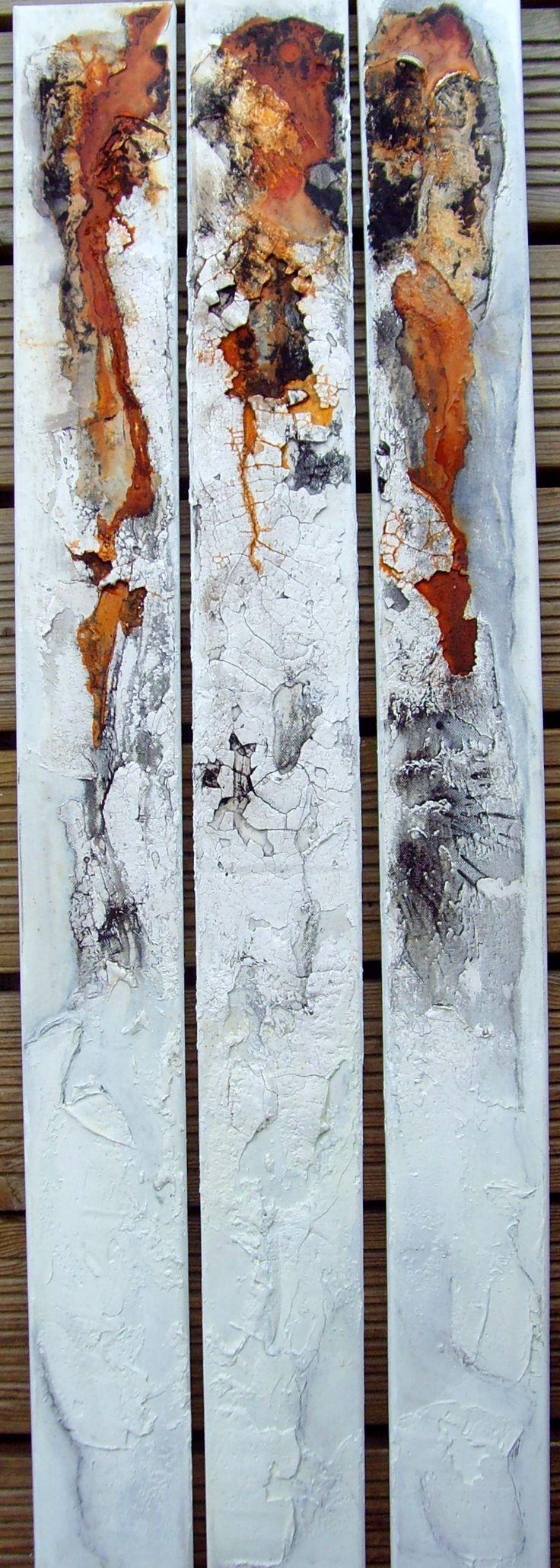 Kunst am Stückl 3 x 1m x 10cm Sumpfkalk und mehr ;o)