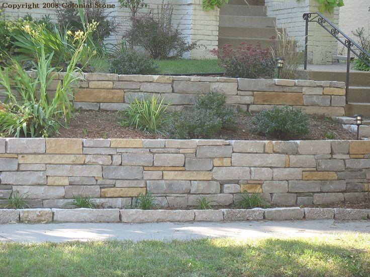 Large Stone Driveway