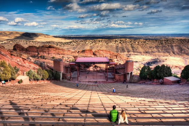 Catch an awesome concert or just take a hike at Red Rocks Park and Amphiteater. | 35 Awesome Things To Do The Next Time You're In Denver