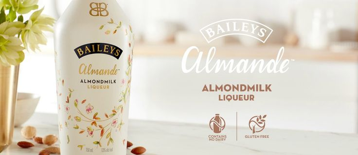 Vegan Baileys! The wait is almost over—Baileys Almande liqueur is now vegan and will hit store shelves in March 2017, just in time for St. Patrick's Day!