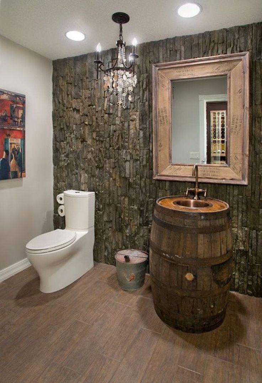 Bagno stile rustico jr03 regardsdefemmes - Accessori bagno rustici ...