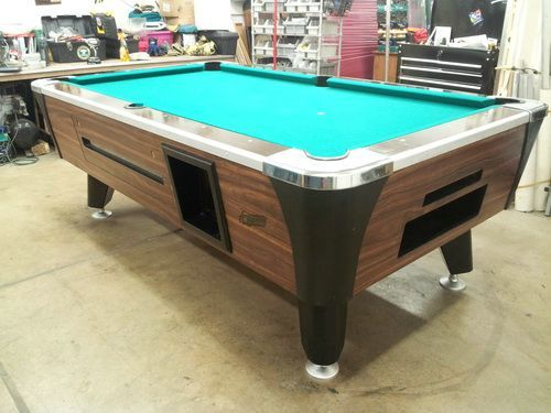 Used Coin Operated Pool Tables