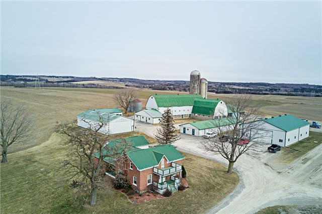 Beautiful 262 Acre Farm Located Just North Of Bowmanville. Minutes North Of New 407. Boasting A New 2 Bedroom Bungalow And Older 5 Bedroom Farm House In Excellent Shape