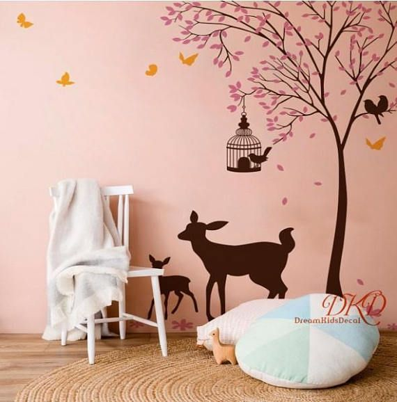 33 best Wall Stickers for Nature Themed Living Room images on ...