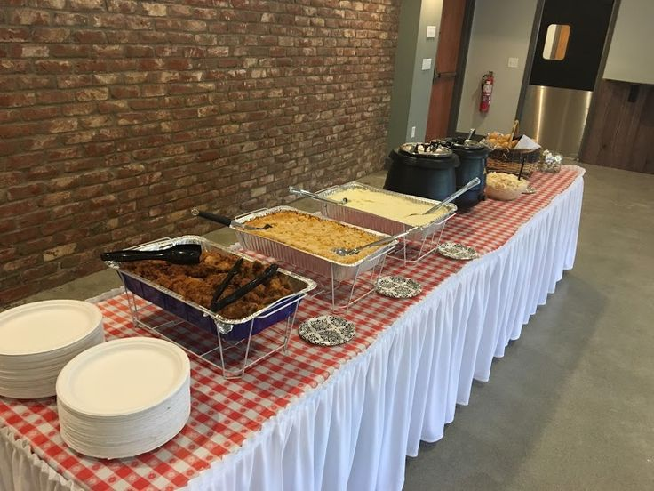 Italian Food Set Up