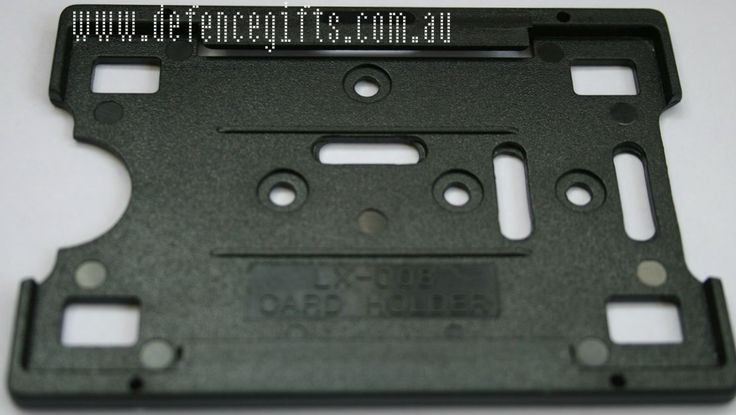 Defence Gifts - Black Single ID Holder, $0.85 (http://www.defencegifts.com.au/black-single-id-holder/)