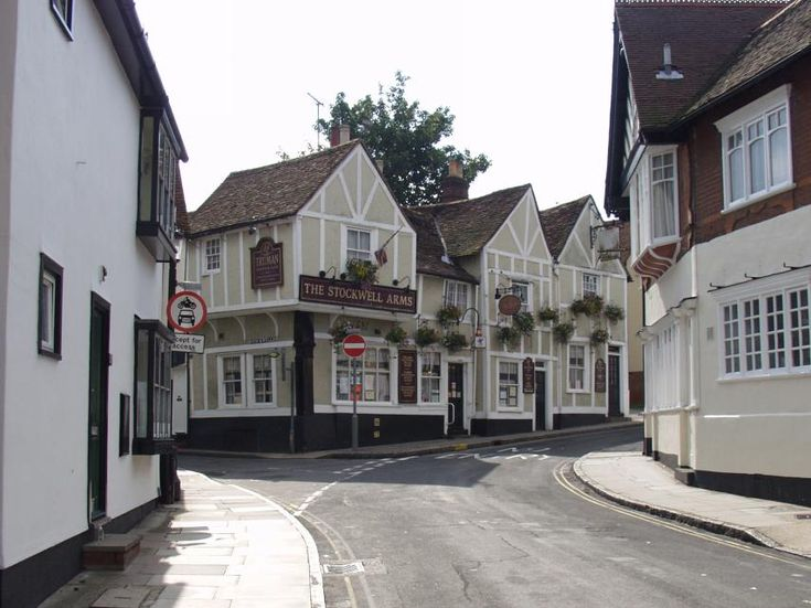 The Stockwell Arms in the Dutch Quarter, Colchester, Essex, England