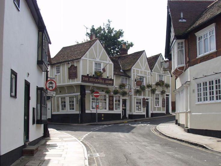 Dutch Quarter, Colchester, Essex, England