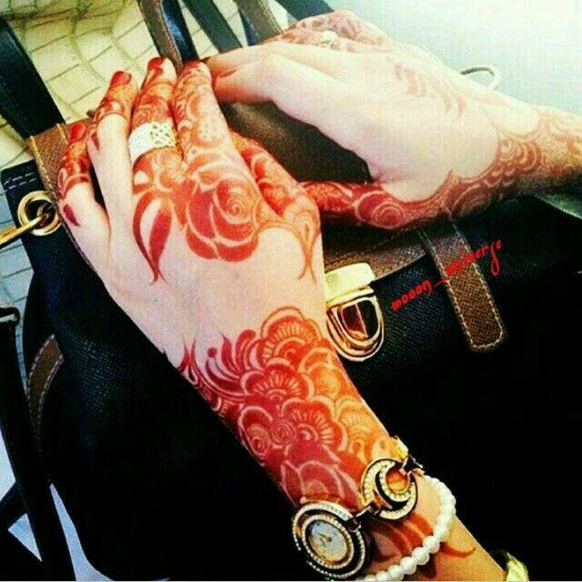 Mahandi design.