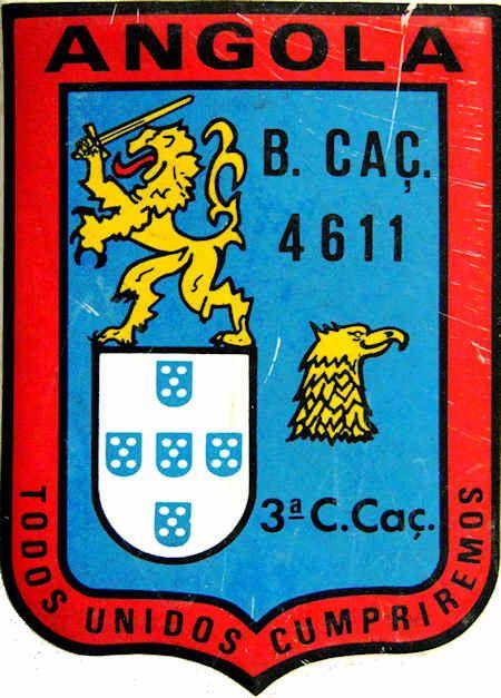 3ª Companhia de Caçadores do Batalhão de Caçadores 4611/74 Angola