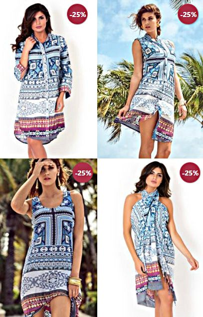 Rochii de vara David Beachwear Gujarat