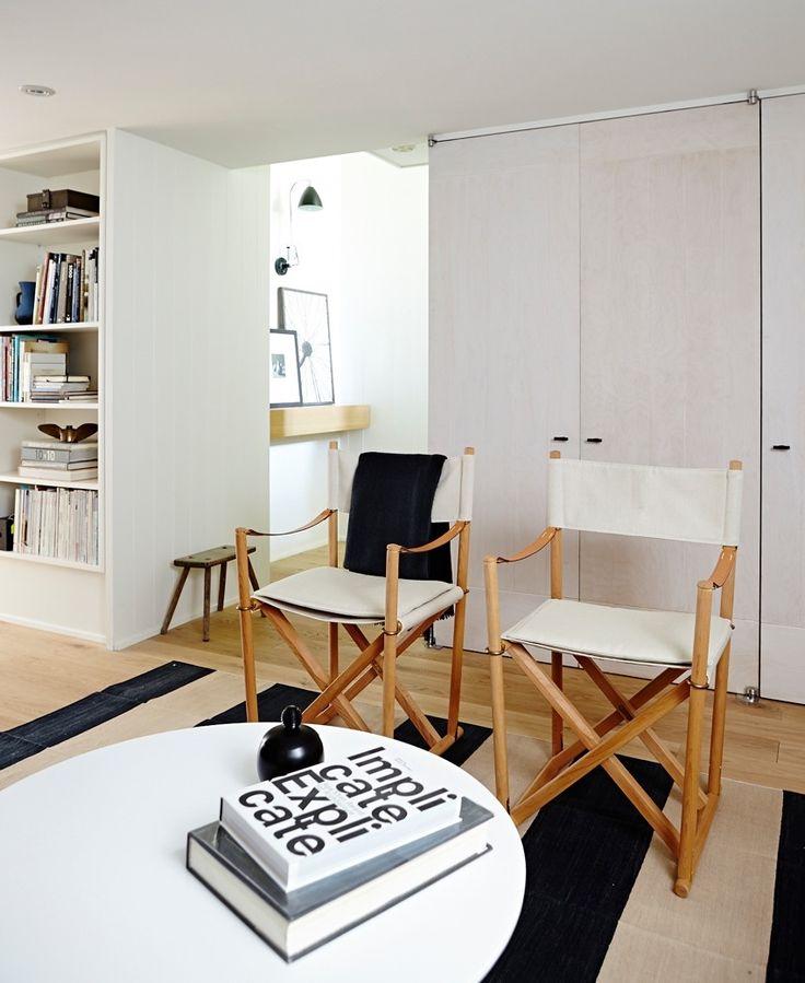 Basement Home Office: Scandi Mod Basement Office In 2020
