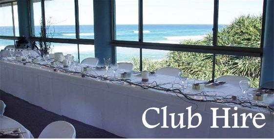 Club Hire Information | Point Lookout SLSC