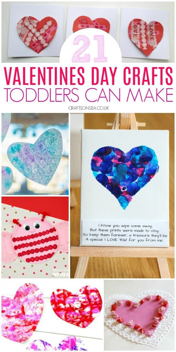 Easy Valentines Day Crafts For Toddlers Valentine Crafts For