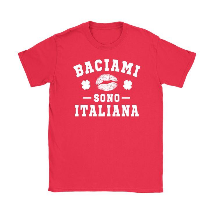 Italian - Kiss Me I'm Italian Shirt