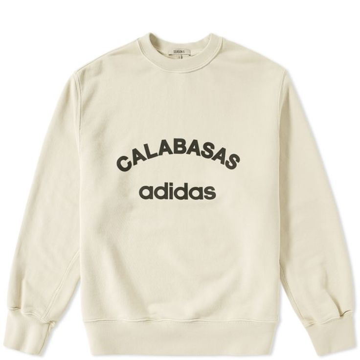Yeezy Season 5 Adidas Calabasas Crew Sweat (Jupiter)