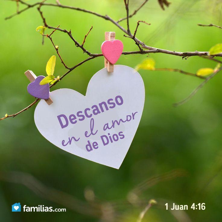 Descanso en el amor de Dios