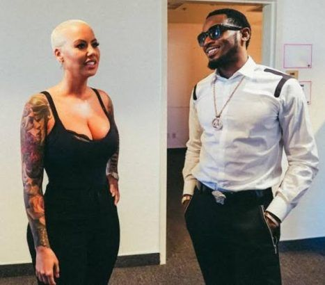 Dbanj Hangs Out With Amber Rose And Her Alleged Boyfriend In Los Angeles