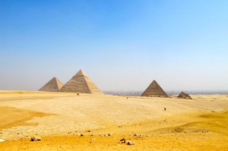 The Great Pyramids of Giza...it is quite a thing to stand looking at them and think of the years they have been there..awesome.