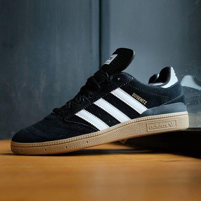 Adidas Busenitz Skateboarding Pro: Black/White/Gum