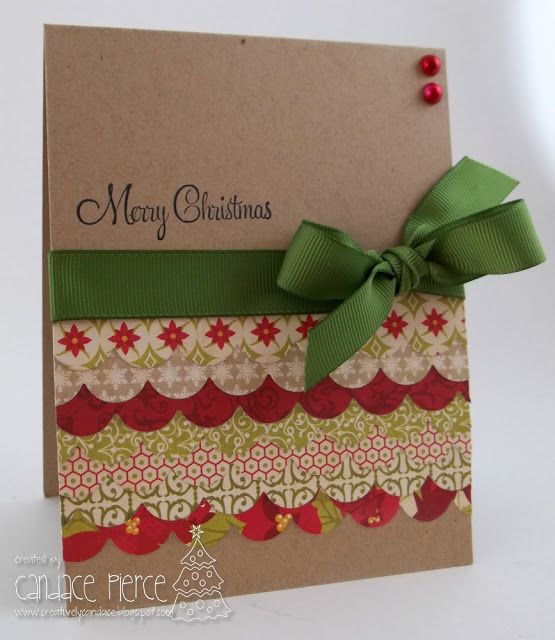 Creatively Candace: Christmas Card Challenges