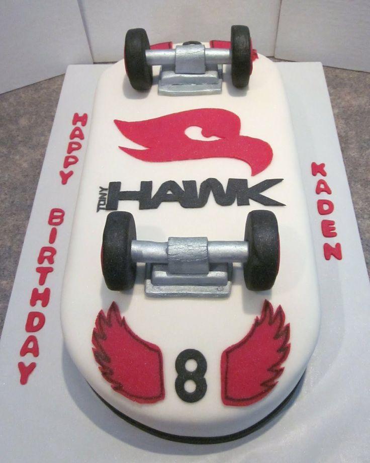 Cool Skateboarding Cakes