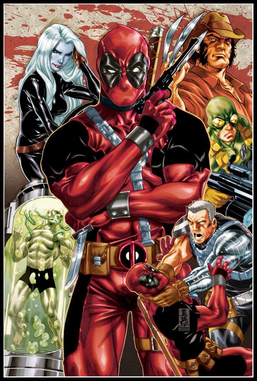 Deadpool by Mark Brooks