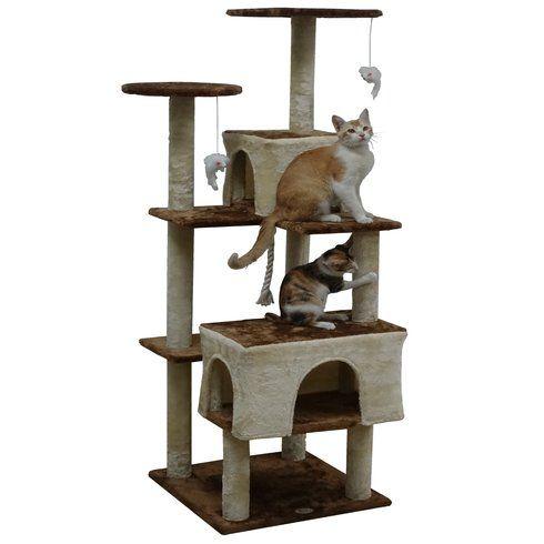 """61"""" Kitten Cat Tree"""