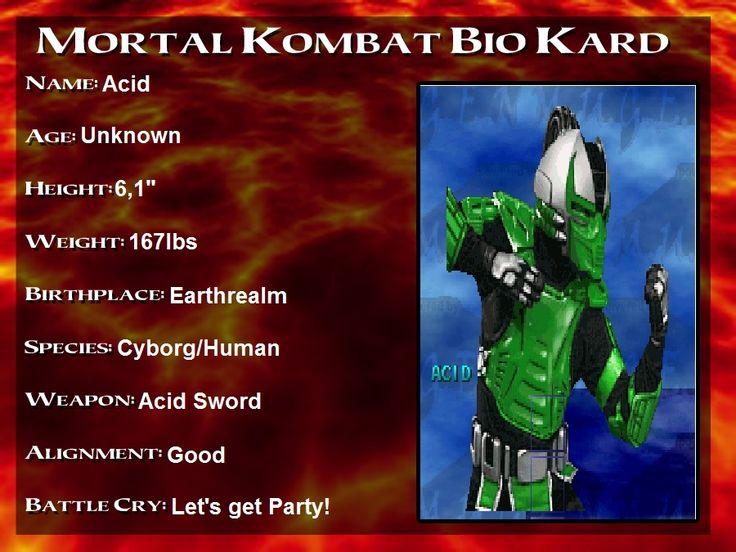 Acid Bio Card by alerkina2.deviantart.com on @DeviantArt