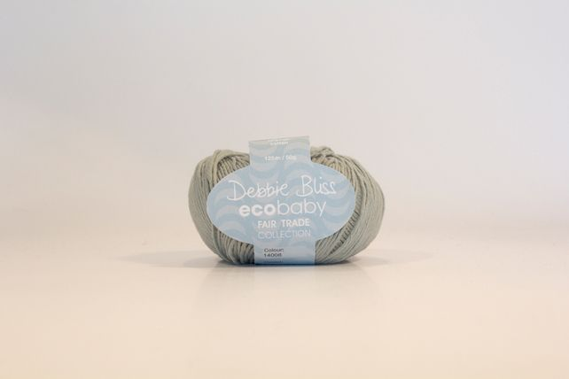 Debbie Bliss Eco Baby - Duck Egg (Shade 08) £3.35