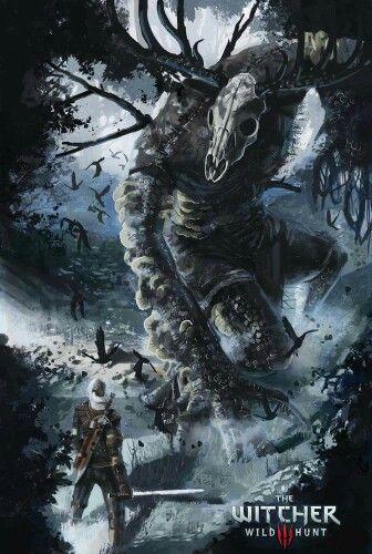 Geralt vs Ancient Leshen, Witcher III