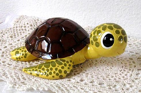 love this sea turtle 'piggy' bank!