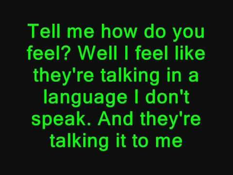 "Coldplay - Talk Lyrics ""I'm so scared about the future and I want to talk to you......."""