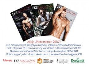 Zaprenumeruj EksMagazyn na rok za jedyne 49 zł i wygraj pobyt w SPA!  Szczegóły po kliknięciu w zdjęcie :)  #konkurs #nagrody #spa #prenumerata