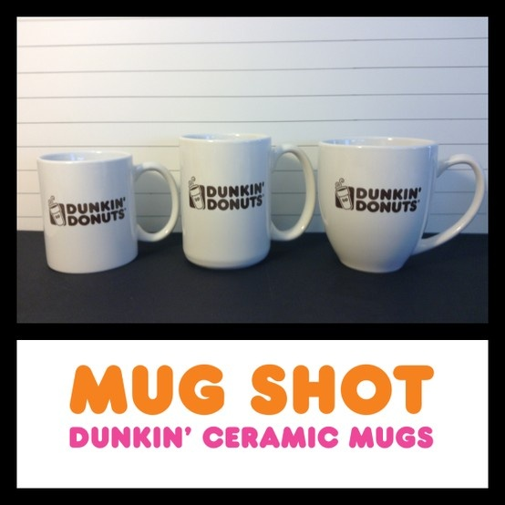 Catch the Dunkin' Ceramic Mug team. WanteDD for holding America's Favorite Coffee. Capture yours at US DDs while supplies last.