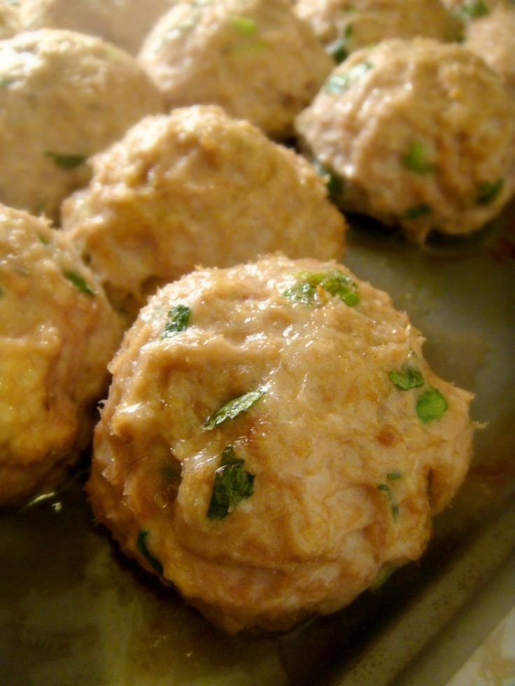 Chicken Meatballs (made 'em, loved 'em)