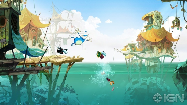 Rayman Origins (Gorgeous visuals in this game)
