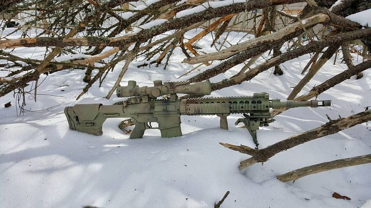 Mk12 mod1 sporting a #magpul #prs chambered in 308, ready ...