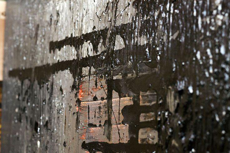 Muro, tecnica vernici e tempere acriliche dipinto su tela 50x40 cm Artista Mattia Paoli  mail: mattiapaoli.design@gmail.com http://nojculture.com/