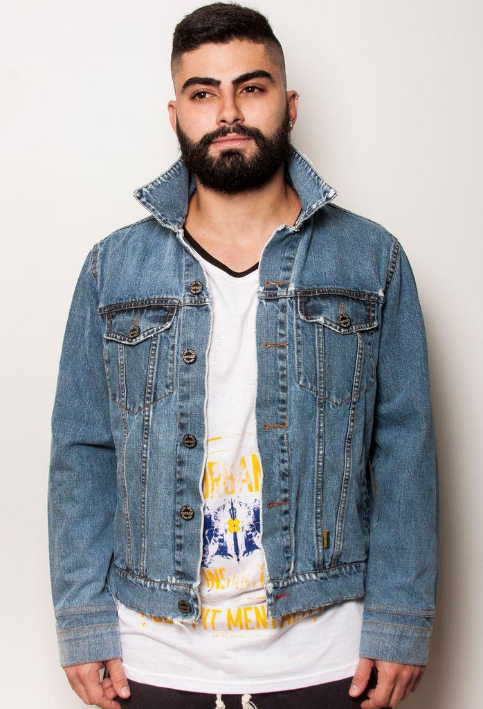 Chaqueta Denim / Denim Jacket - Wash 409 by beFREEclothing. #denim #denimjackets #chaquetasdenim #menswear #vestuariomasculino