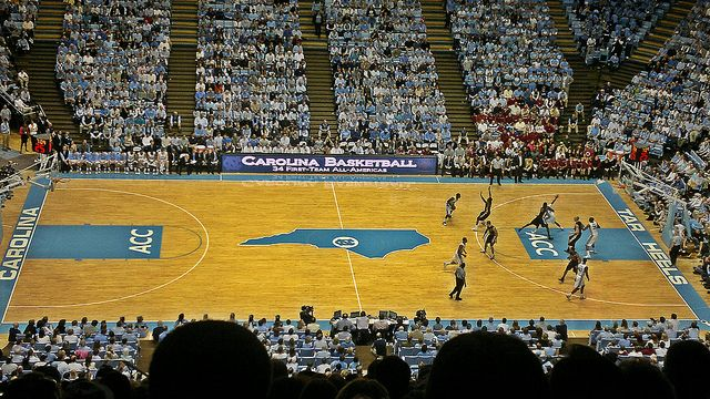 UNC - Kenan Stadium (Marching Band Competition) & Basketball games at the Dean Dome!!! :)
